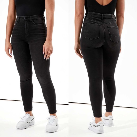 AE Curvy Super High Rise Jeggings Jeans